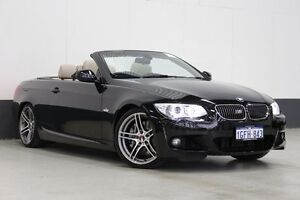2012 BMW 335i E93 MY12 M Sport Black 7 Speed Automatic Convertible Bentley Canning Area Preview