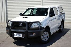 2011 Toyota Hilux KUN26R MY10 SR White 4 Speed Automatic Utility Seaford Frankston Area Preview