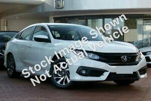 2018 Honda Civic 10th Gen MY18 VTi-S Luxe White 1 Speed Constant Variable Sedan Ravenhall Melton Area Preview