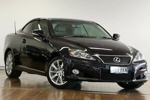 2010 Lexus IS250 C GSE20R MY10 Prestige Midnight Metallic 6 Speed Sports Automatic Convertible Adelaide CBD Adelaide City Preview