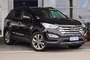 2013 Hyundai Santa Fe DM MY13 Highlander Black 6 Speed Sports Automatic Wagon Mindarie Wanneroo Area Preview