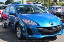 2012 Mazda 3 BL10F2 Neo Blue 6 Speed Manual Sedan Wangara Wanneroo Area Preview