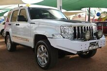 2011 Jeep Cherokee KK MY11 Limited White 5 Speed Sports Automatic Wagon Minchinbury Blacktown Area Preview