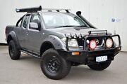 2008 Nissan Navara D40 ST-X King Cab Grey 6 Speed Manual Utility Woodbridge Swan Area Preview