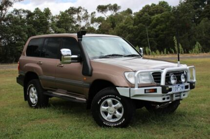 1998 Toyota Landcruiser UZJ100R GXV Bronze 4 Speed Automatic Wagon Officer Cardinia Area Preview