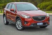 2012 Mazda CX-5 KE1021 Grand Touring SKYACTIV-Drive AWD Red 6 Speed Sports Automatic Wagon Wilson Canning Area Preview