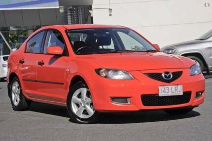 2008 Mazda 3 BK10F2 MY08 Neo Sport Red 4 Speed Sports Automatic Sedan