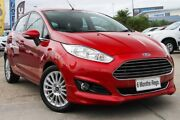 2015 Ford Fiesta WZ MY15 Sport Red/Black 5 Speed Manual Hatchback Hillcrest Logan Area Preview