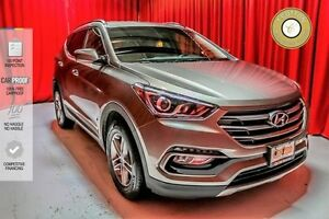 2017 Hyundai Santa Fe Sport HEATED FRONT AND REAR SEATS! HEATED