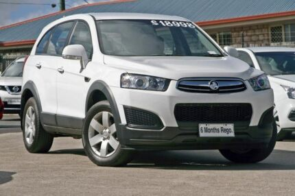 2014 Holden Captiva CG MY15 7 LS White 6 Speed Sports Automatic Wagon Hillcrest Logan Area Preview