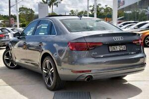 2016 Audi A4 B9 F4 MY17 Sport S tronic Grey 7 Speed Sports Automatic Dual Clutch Sedan