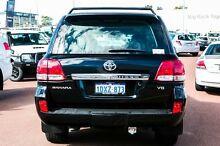 2007 Toyota Landcruiser VDJ200R Sahara Black 6 Speed Sports Automatic Wagon Balcatta Stirling Area Preview