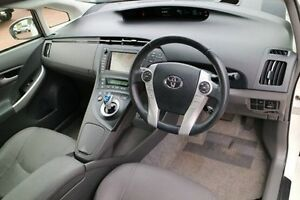 2012 Toyota Prius ZVW30R I-Tech White 1 Speed Constant Variable Liftback Wilson Canning Area Preview