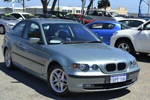 2004 BMW 318TI E46/5 MY04 Steptronic Blue 5 Speed Sports Automatic Hatchback Pearsall Wanneroo Area Preview