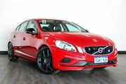 2014 Volvo S60 F Series MY14 Polestar Geartronic AWD Red 6 Speed Sports Automatic Sedan Victoria Park Victoria Park Area Preview