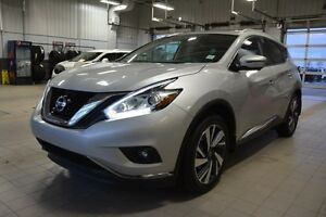 2016 Nissan Murano PLATINUM AWD Navigation (GPS),  Leather,  Hea