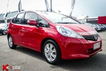 2012 Honda Jazz GE MY12 Vibe Red 5 Speed Manual Hatchback Garbutt Townsville City Preview