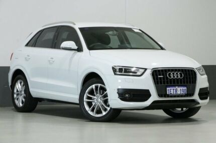 2015 Audi Q3 8U MY14 2.0 TFSI Quattro (125KW) White 7 Speed Auto Dual Clutch Wagon Bentley Canning Area Preview