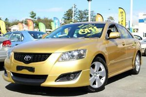 2008 Toyota Aurion GSV40R Sportivo SX6 Yellow 6 Speed Sports Automatic Sedan Greenslopes Brisbane South West Preview