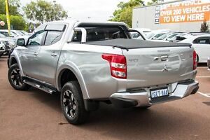 2016 Mitsubishi Triton MQ MY16 Exceed Double Cab Sterling Silver 5 Speed Sports Automatic Utility Wilson Canning Area Preview