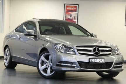 2012 Mercedes-Benz C250 CDI C204 BlueEFFICIENCY Palladium Silver Sports Automatic Coupe