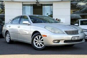 2002 Lexus ES300 MCV30R Silver, Chrome 5 Speed Automatic Sedan Kirrawee Sutherland Area Preview