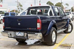 2013 Nissan Navara Blue Manual Utility Bentleigh Glen Eira Area Preview