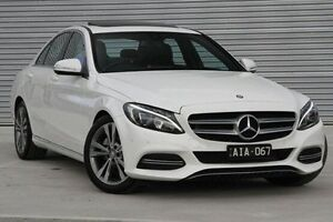 2015 Mercedes-Benz C200  White Sports Automatic Sedan Ringwood East Maroondah Area Preview