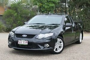 2009 Ford Falcon FG XR6 Ute Super Cab Black 6 Speed Manual Utility Underwood Logan Area Preview