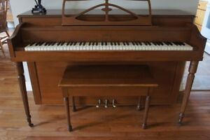 Apartment Size Piano and Bench