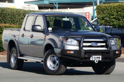 2010 Ford Ranger PK XL Crew Cab Grey 5 Speed Automatic Utility Acacia Ridge Brisbane South West Preview