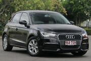 2012 Audi A1 8X MY13 Attraction Sportback S tronic Black 7 Speed Sports Automatic Dual Clutch Chermside Brisbane North East Preview