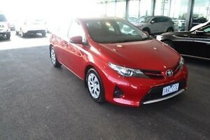 2013 Toyota Corolla ZRE182R Ascent Red 7 Speed Constant Variable Hatchback Strathmore Heights Moonee Valley Preview