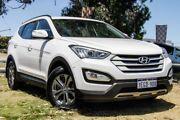 2013 Hyundai Santa Fe DM MY13 Active Creamy White 6 Speed Sports Automatic Wagon Wangara Wanneroo Area Preview