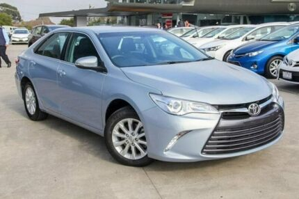 2016 Toyota Camry Blue Sports Automatic Sedan