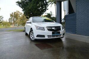 2009 Holden Cruze JG CD White 5 Speed Manual Sedan Ashmore Gold Coast City Preview