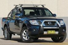 2012 Nissan Navara D40 MY12 ST (4x4) Blue 6 Speed Manual Dual Cab Pick-up Wolli Creek Rockdale Area Preview
