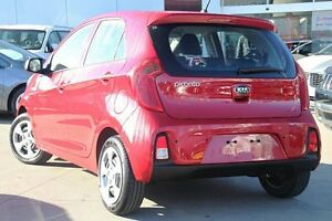 2016 Kia Picanto TA MY17 SI Red 4 Speed Automatic Hatchback Waitara Hornsby Area Preview