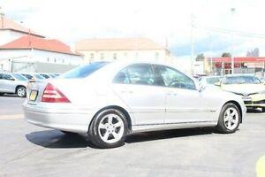 2005 Mercedes-Benz C200 Kompressor W203 MY2005 Avantgarde Silver Sports Automatic Sedan South Maitland Maitland Area Preview