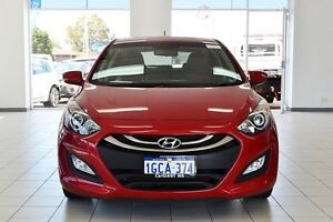 2014 Hyundai i30 GD MY14 Active Brilliant Red 6 Speed Automatic Hatchback Morley Bayswater Area Preview