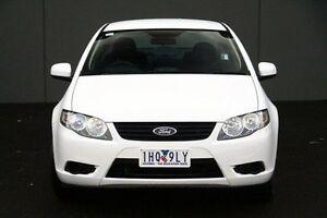 2010 Ford Falcon White Sports Automatic Sedan Cranbourne Casey Area Preview