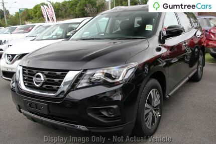 2016 Nissan Pathfinder R52 Series II MY17 ST X-tronic 2WD White 1 Speed Constant Variable Wagon