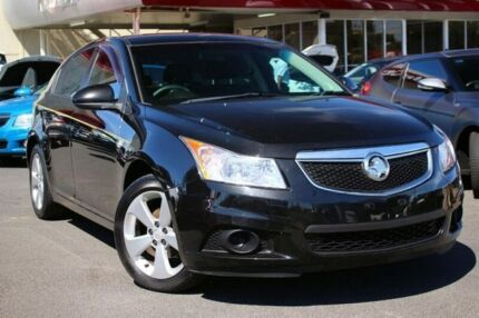 2012 Holden Cruze JH Series II MY13 Equipe Black 6 Speed Sports Automatic Hatchback Seaford Frankston Area Preview