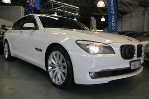 2010 BMW 730D F01 MY11 White 6 Speed Steptronic Sedan Victoria Park Victoria Park Area Preview