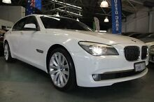 2010 BMW 730D F01 MY11 White 6 Speed Steptronic Sedan Victoria Park Victoria Park Area Preview