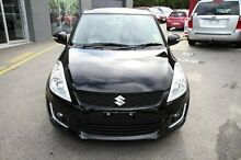 2015 Suzuki Swift FZ MY14 GL Super Black 5 Speed Manual Hatchback Carseldine Brisbane North East Preview