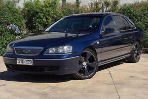 2003 Ford Fairlane BA G220 Blue 4 Speed Automatic Sedan Melton Melton Area Preview