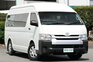2013 Toyota Hiace KDH223R MY12 Commuter High Roof Super LWB White 5 Speed Manual Bus Acacia Ridge Brisbane South West Preview