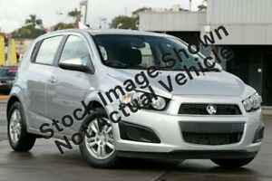 2013 Holden Barina TM MY14 CD Silver 6 Speed Automatic Hatchback Brendale Pine Rivers Area Preview