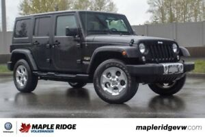 2015 Jeep Wrangler Unlimited Sahara ONE OWNER, NO ACCIDENTS, LOC